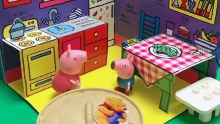 小猪佩奇:我妈妈要打我