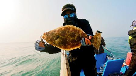 提竿中鱼以为是海鲈,结果出人意料,竟是酒店里才有的稀罕物