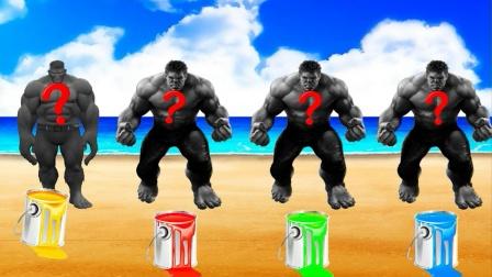 自制超级英雄:给巨人涂上喜欢的颜色