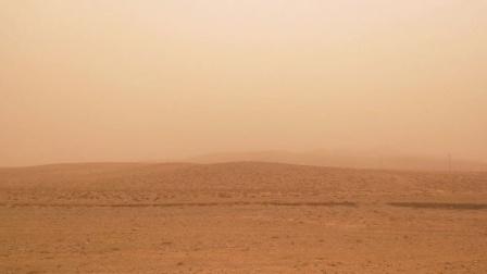 宁夏银川多年未曾出现的沙尘天气