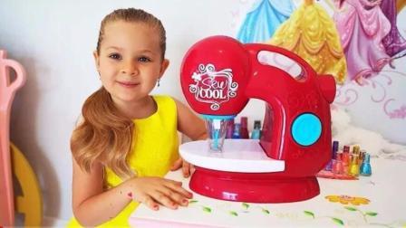 小萝莉新买了缝纫机,试着给哥哥做新衣服,全是裙子哥哥会满意吗