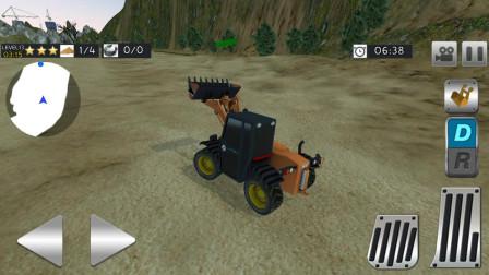 最新挖掘机视频表演, 工程车卡车拖拉机
