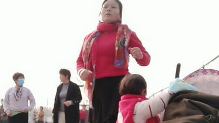 春天美广场舞《第一遍学跳舞效果怎么样》