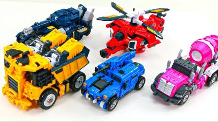 迷你力  机器人最大 伏萨米 露西车辆变形金刚机器人玩具.