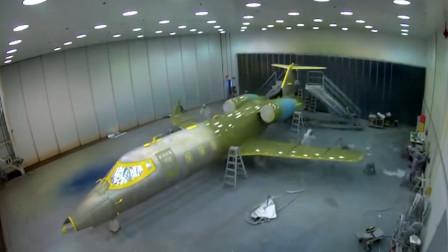 美国私人飞机制造工程工厂,全身500万个零件,大部分纯手工打造!
