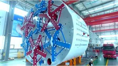 为挖隧道专门造的盾构机,只用1次就丢,基建狂魔有钱任性!