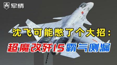 新舰载机不止FC31?沈飞可能憋了个大招:歼15霸气侧漏