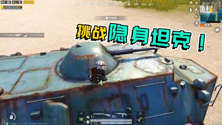 鸡大宝:挑战隐身坦克,不料赶路期间遭遇一闪而过的灵异巨石