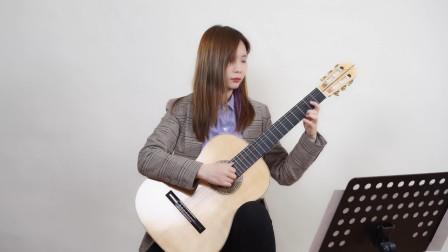 古典吉他演奏柴可夫斯基《六月船歌》,优美好听,建议带耳机听