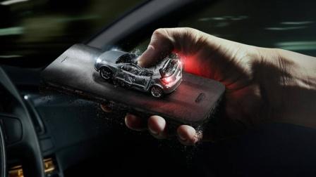 C4D柔体动力学特效模拟压扁汽车第4讲