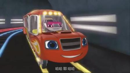 旋风战车队:飞到空中打破泡泡,飚速救出小伙伴,然后参加比赛去