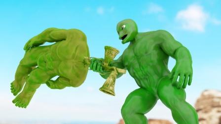 自制超级英雄:小绿人的旅行