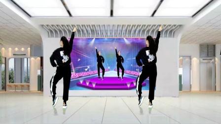 原创现代健身舞《最靓的仔》好看个性的健身操 正反面
