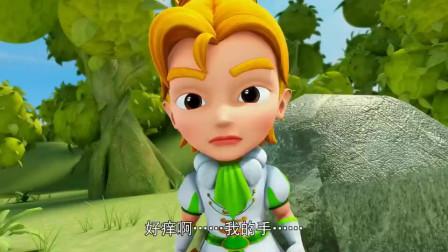 猪猪侠:一切都是饰品引起,青蛙王子的饰品,还会咬人!