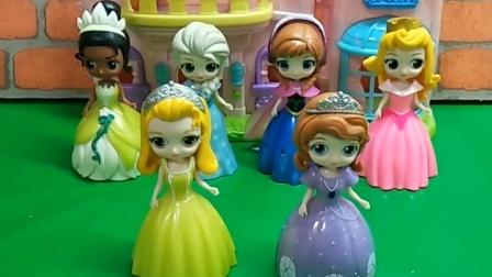 这几个公主你们认识吗?一共有6位公主,每位都很漂亮呢