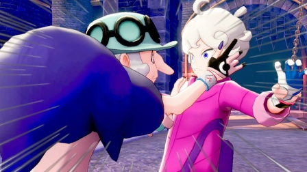 精灵宝可梦盾86:再次来到拳关市,又遇到对手彼特