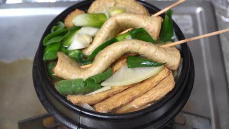 用冬草调制的凉拌菜,搭配多种调味,最后撒上一层芝麻,太香啦!