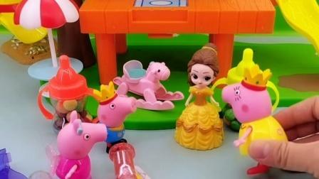 猪妈妈很忙,就给小猪找了一个姐姐,她能好好对待小猪吗?