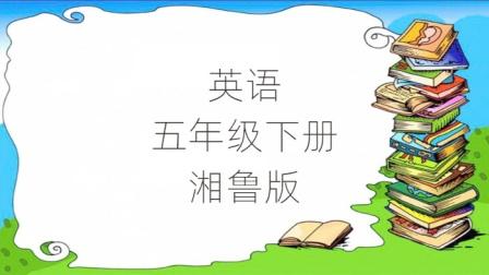 小学英语5年级下册湘鲁版课堂教学视频湖南山东教育出版社