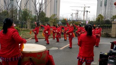 建群村广场舞(腰鼓)