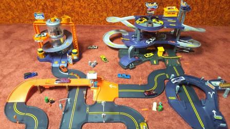 大型车库和洗车场玩具试玩