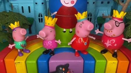 给小猪一家发冰激凌了,但冰激凌只有三个,该怎么分呢