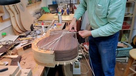 古典吉他 捆绑式镶边工艺 小蒋吉他广州水荫路工作室