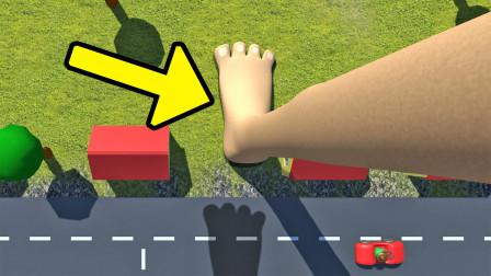 进击巨人模拟器,踩到人类就会被扣工资的巨人你见过没?