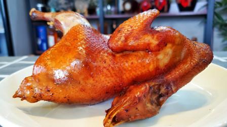 鸡肉这样做,一人能吃一整只,皮脆肉嫩,比烤鸡还香还好吃