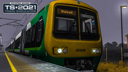 TS2021 伯明翰跨城线 #1:阴间VVVF 驾驶Class323于早高峰前的回送班次 | Train Simulator 2021
