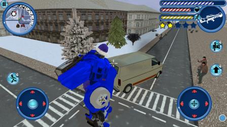 变形机器人英雄 这就是传说中的防弹车?