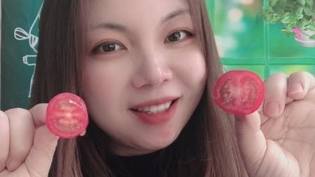 美女小姐姐试吃千禧果,味道好极了!