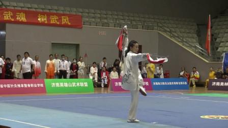 6女子拳械6号选手吴丽娜2020.9.27赵胜利摄制
