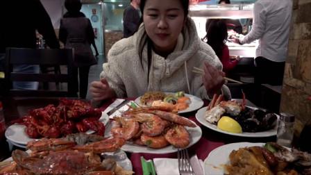 在欧洲吃了一顿人均15欧的自助餐,这个标准在国内,得花多少钱