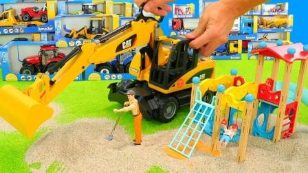 汪汪队玩具故事:好炫酷!你最喜欢哪一款工程车呢?