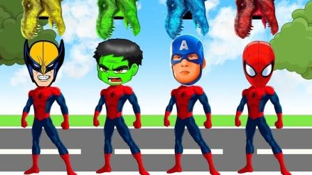 自制超级英雄:彩色蜘蛛侠