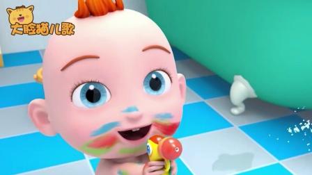 超级宝贝JOJO:我爱洗澡,皮肤好好
