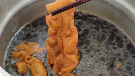猪大肠这样卤,又香又好吃,一次卤两斤不够吃,做法简单一看就会