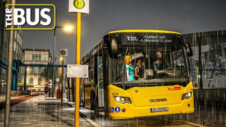 THE BUS #1.5:于雨夜驾驶斯堪尼亚CitywideLFA | The Bus - 城市公交模拟