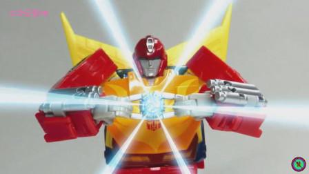《变形金刚》玩具展示特效短片!热破SS-60