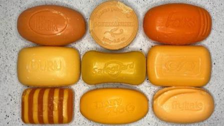 把橘色香皂全部刮开完,无硼砂,玩着好过瘾呢