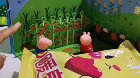 佩奇买了暖身贴,乔治还以为是糖果,真是好笑!