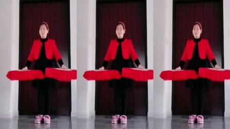 四川秋红扇子舞32步,老百姓的歌,