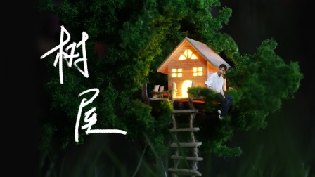 男孩子的梦想,是拥有自己的树屋