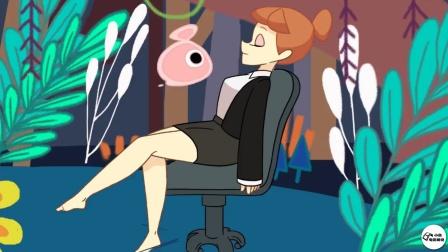 老板不仅没开除偷懒女员工,还把老板之位让给了她【热剧快看】