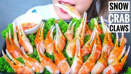 精致小巧的澳龙虾钳,肉质Q弹紧实,剥虾壳就像嗑瓜子
