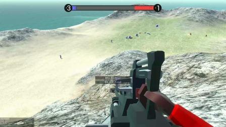 战地模拟器:丧尸围城模式开启,激光炮阻止僵尸们的入侵