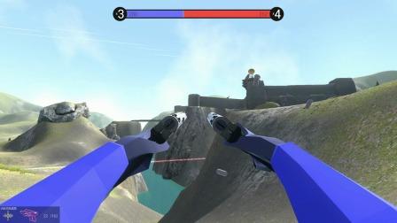 战地模拟器:要塞地图的空中堡垒出现了!防空车消灭它
