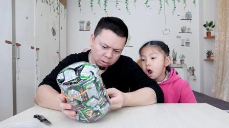 """开箱试吃""""脆皮珠"""",超市里找零专用的零食,一点都不脆!"""