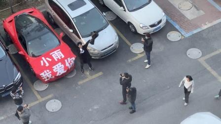 男网红女友被跑车男当众求婚,男友懵了!